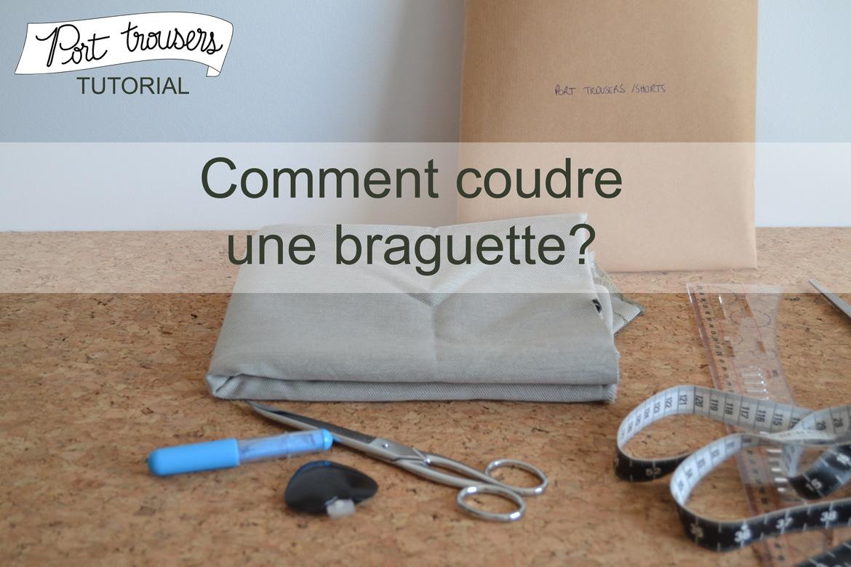 Comment coudre une braguette pauline alice - Comment reparer une braguette ...