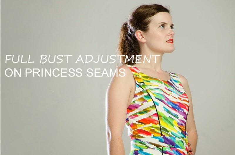 Cose-conmigo Alameda: ajustes de pecho • Patrones de costura ...