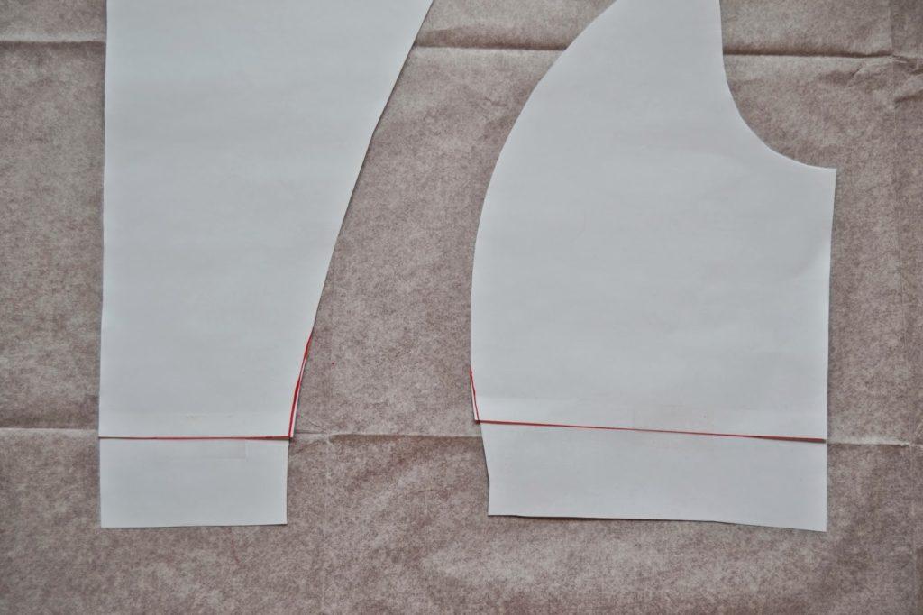 Cose-conmigo Alameda: ajustes de largo • Patrones de costura ...