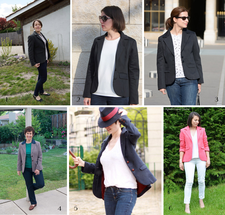 Saler jacket pattern testers
