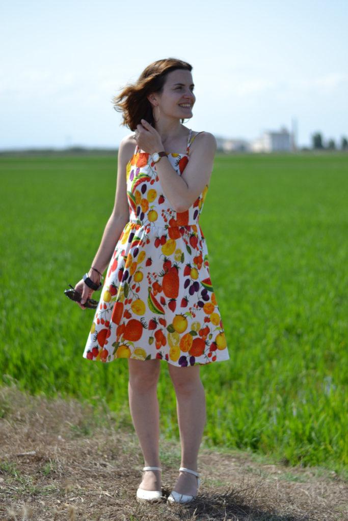 vestido seda modificado