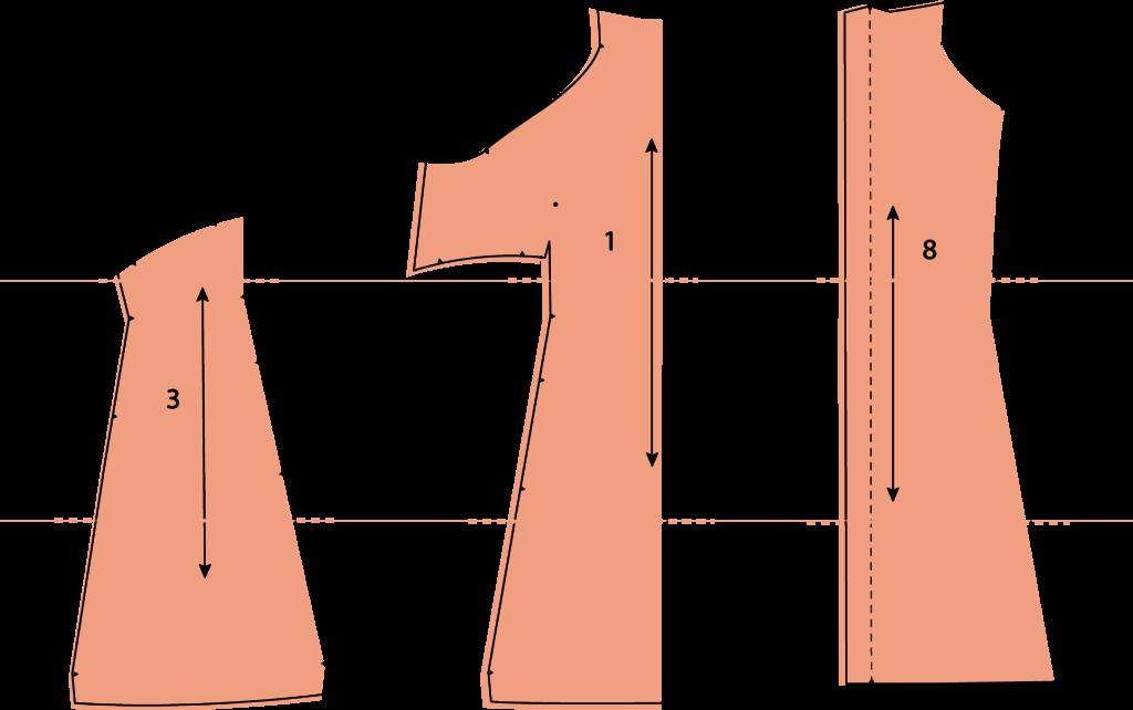 COMÓ MODIFICAR EL PATRÓN HEMISFÈRIC • Patrones de costura ...