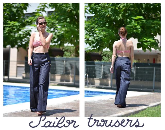Sailor Trousers • Pauline Alice